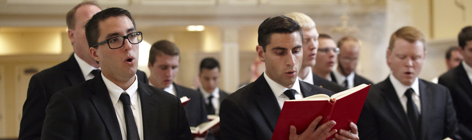 Seminarians at Lauds